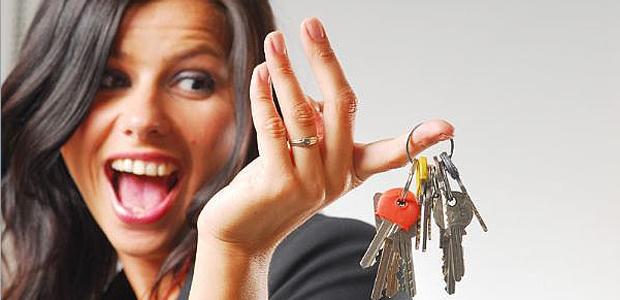 Kvinde har fået nye nøgler